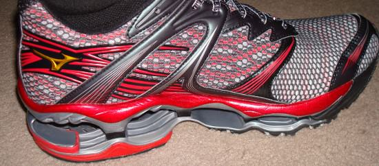 Mizuno Wave Prophecy Medial View