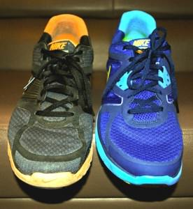 Lunarglide 1 vs 3 - Upper View
