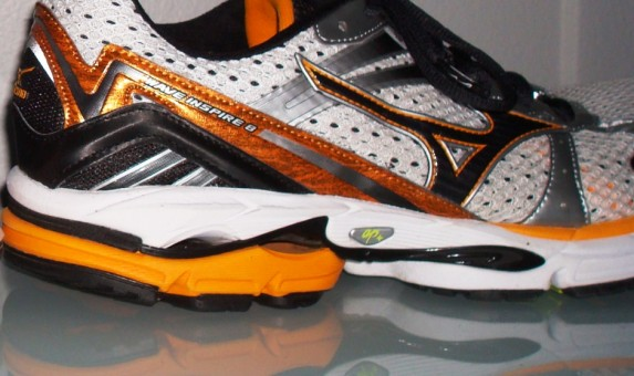 Mizuno Wave Inspire 8 - Heel Lateral View