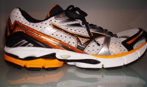 Mizuno Wave Inspire 8 - Lateral View