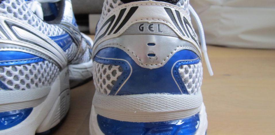 Asics GT 1170 Review - Heel