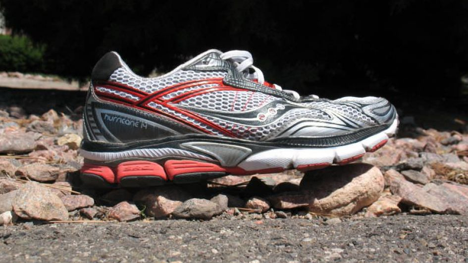 Saucony Hurricane 14 - Lateral Side