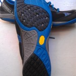 A closer look at the outsole of the Barefoot Road Glove