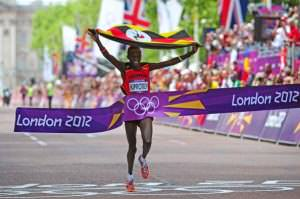 Olympic Marathon Gold Medal Winner Stephen Kiprotich