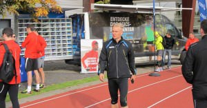 Dr. Matthias Marquardt at the Natural Running Clinic