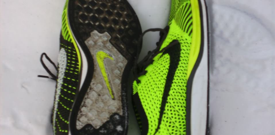 Nike Flyknit Racer - Outsole and Medial Side