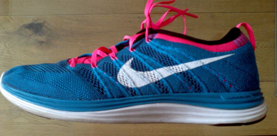 Nike Flyknit Lunar1+ - Lateral Side