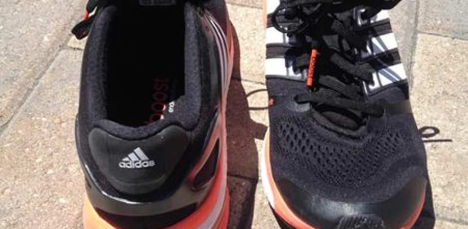 Adidas Adistar Boost 2 - Heel and Toe