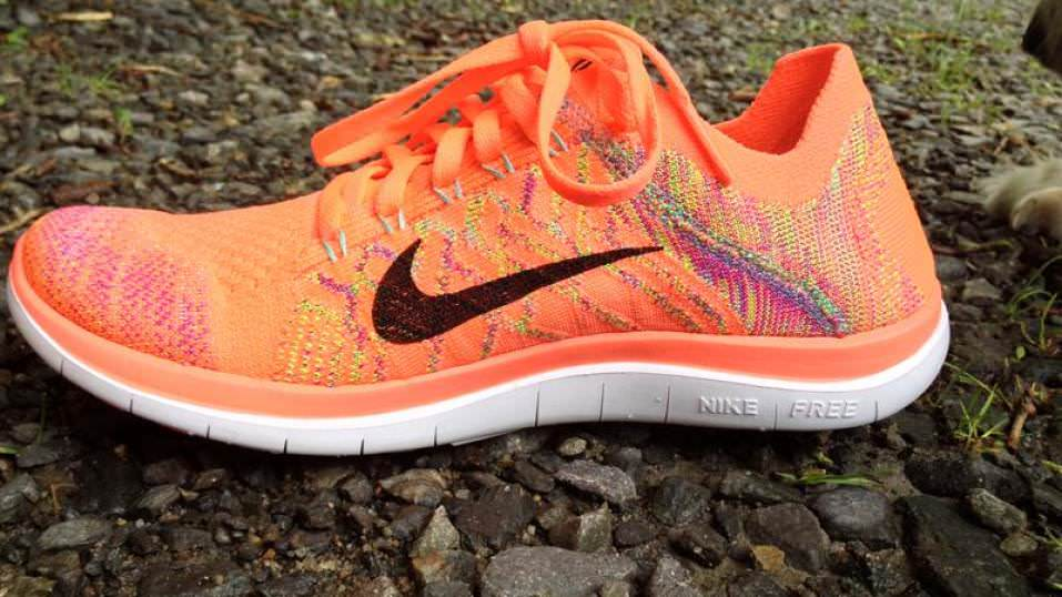womens nike free flyknit 4.0 running shoes review