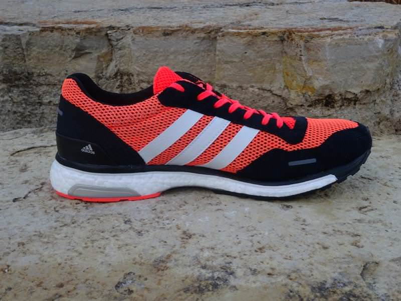 adidas adizero adios boost 3 review running shoes guru. Black Bedroom Furniture Sets. Home Design Ideas
