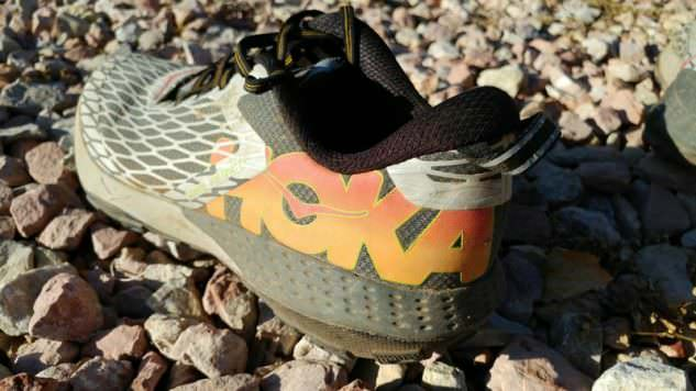 Hoka One One Speed Instinct - Lateral Side