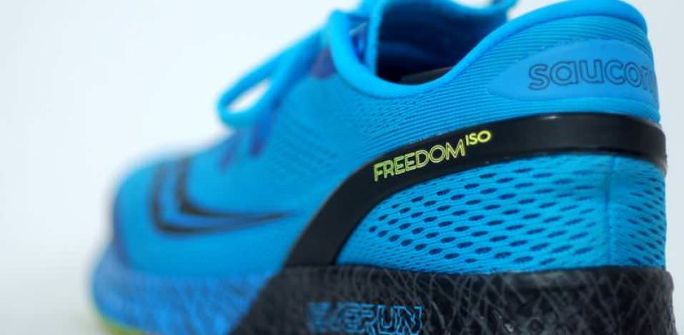 Saucony Freedom ISO - Lateral Side