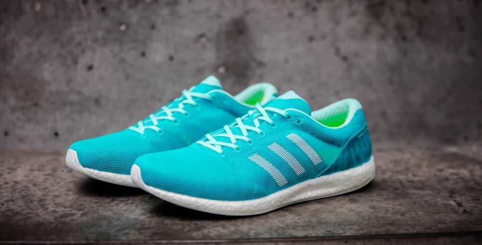 "Adidas launches ""sub2"" marathon shoe."