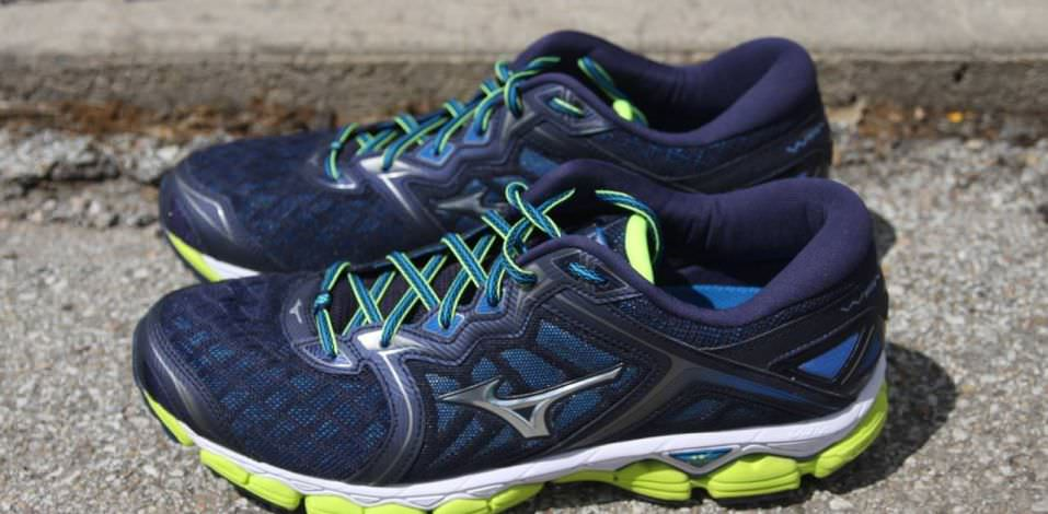 Mizuno Wave Sky - Lateral Side