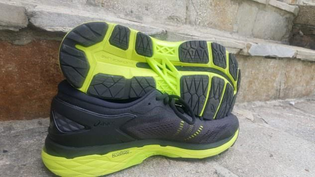 Asics Gel Kayano 24 - Sole and Medial Side