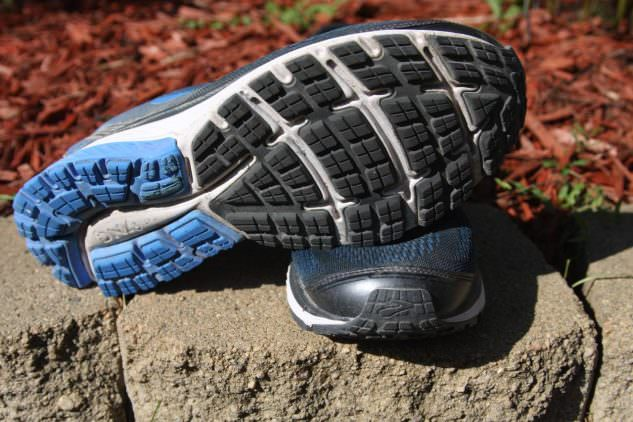Brooks Ghost 10 - Sole and Toe