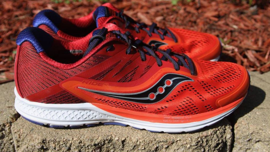 Saucony Ride 10 - Lateral Side
