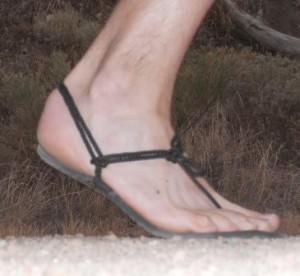 Huarache Invisible Shoe - Lateral