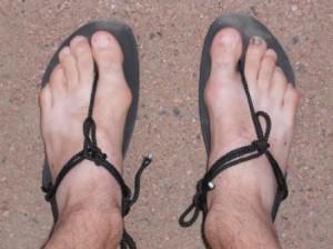 Huarache Invisible Shoe - Top