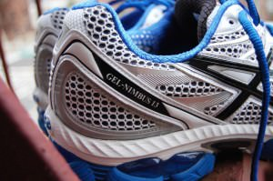 Asics Gel Nimbus 13 - Heel