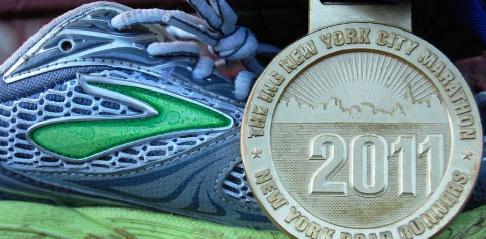 Brooks Ghost 4 plus Medal