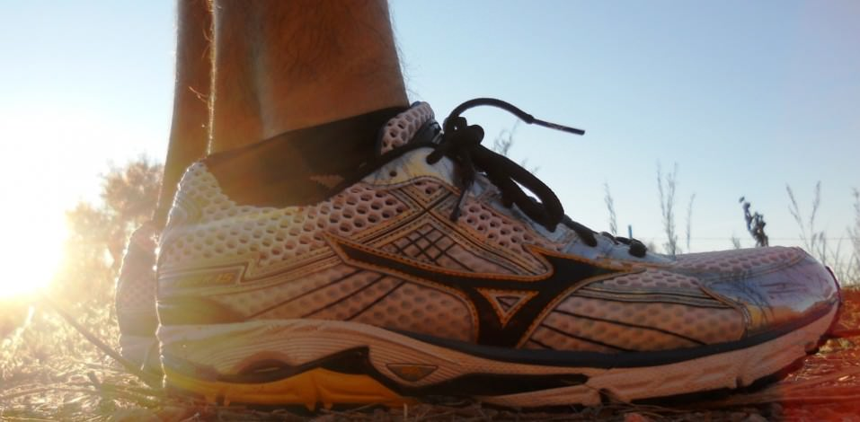 Mizuno Wave Rider 15 - Lateral View