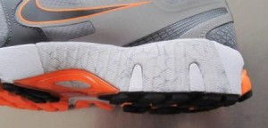 Nike Zoom Structure Triax 15 - Medial Post Detail