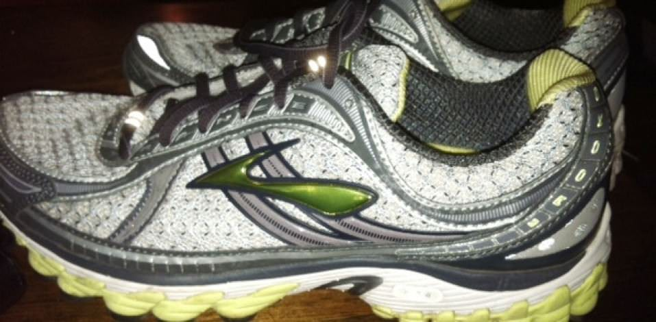 Brooks Trance 11 - Lateral View