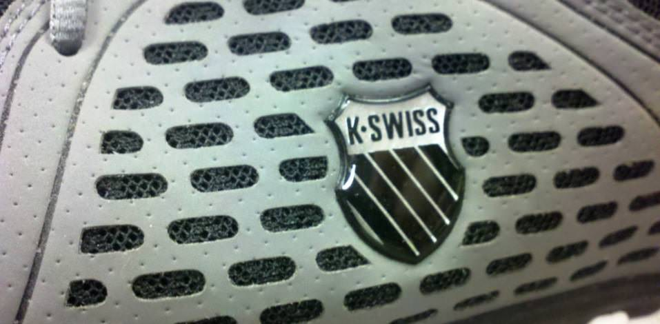 K-Swiss Blade Foot Run - Detail and Logo