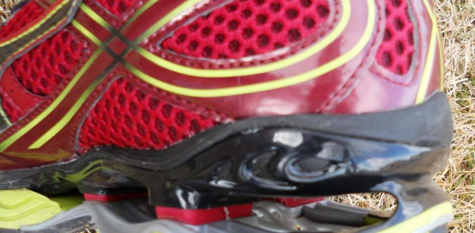 Mizuno Wave Creation 13 - Heel View from an Angle