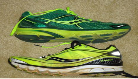 Saucony Minimalistic Running Shoes