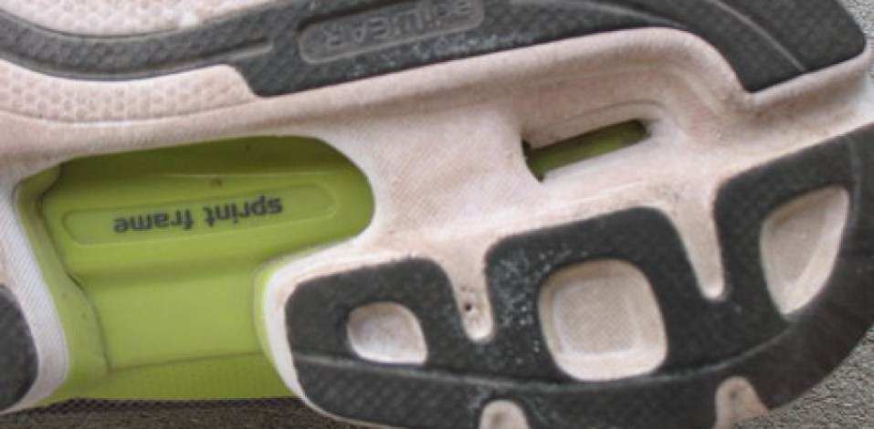 Adidas Adizero Rush - Heel Outsole