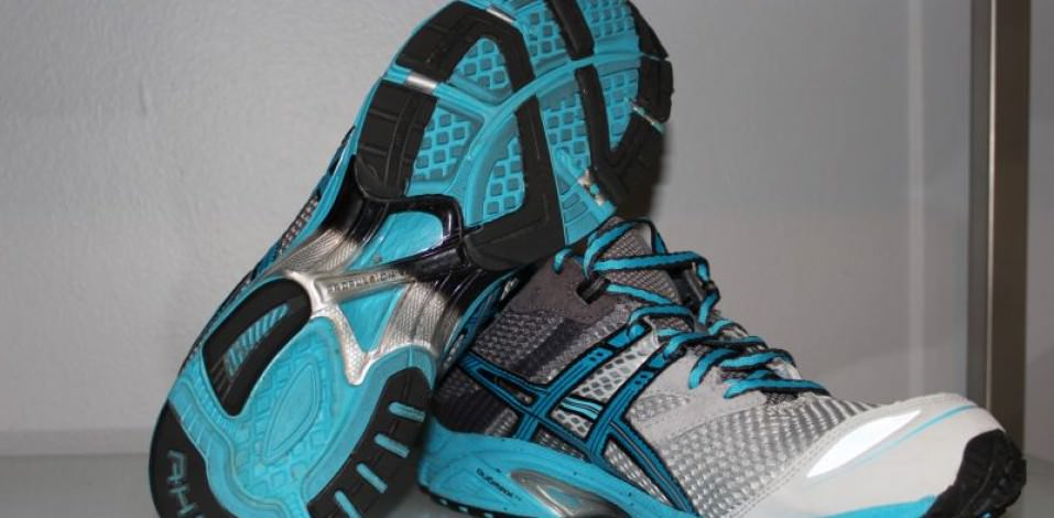 Asics DS Trainer 17 - Outsole and Medial Side