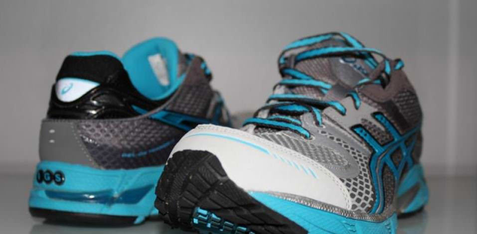 Asics DS Trainer 17 - Toebox and Heel