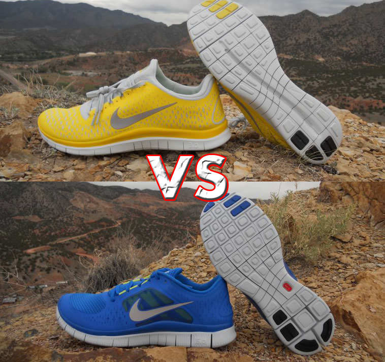 difference between nike 3 0 v4 and nike free run 3. Black Bedroom Furniture Sets. Home Design Ideas