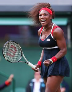 Serena Williams has long been open about her athletic body type.