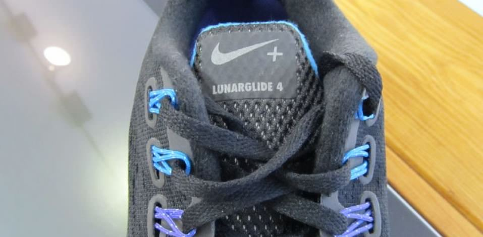 Nike LunarGlide 4- Tongue and Eyelets