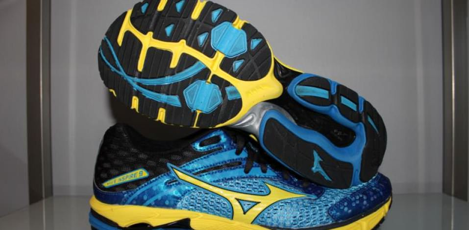 Mizuno Wave Inspire 9 -  Sole