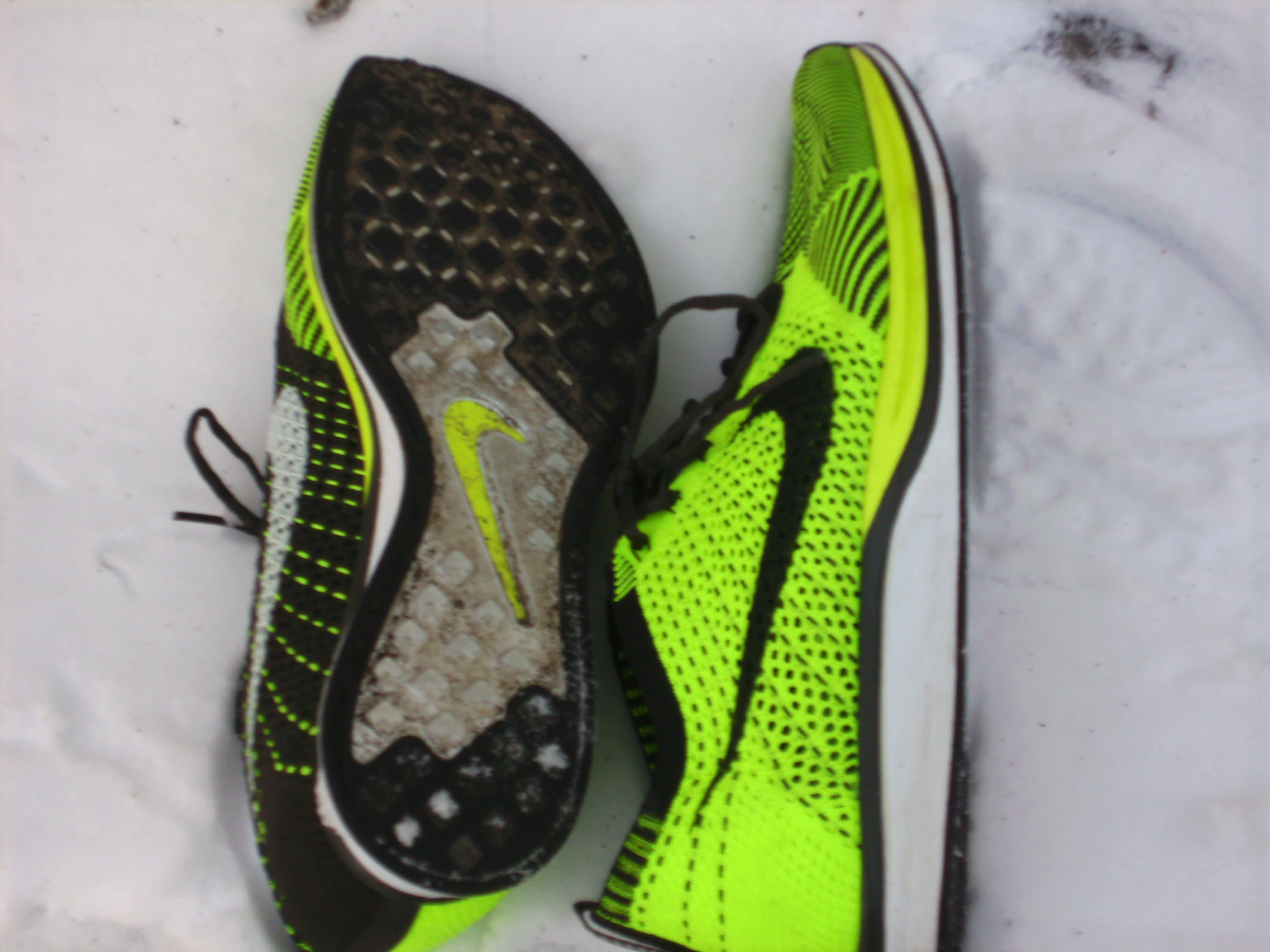 quality design 12c86 59fb1 Nike Flyknit Racer - Outsole and Medial Side