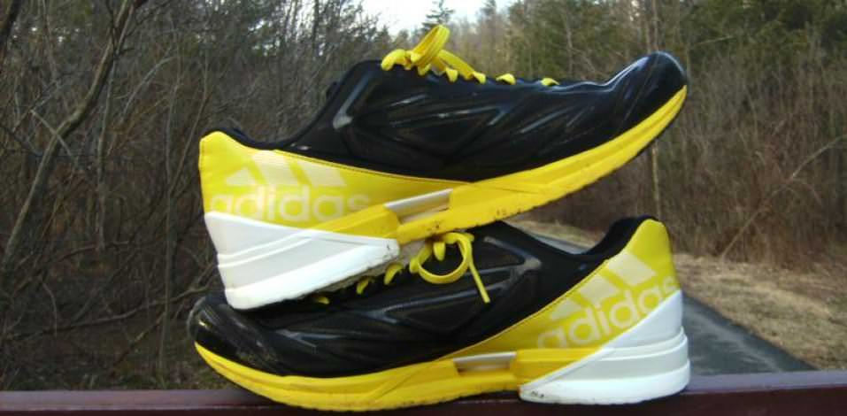 Adidas Crazy-Fast Trainer - Medial Side