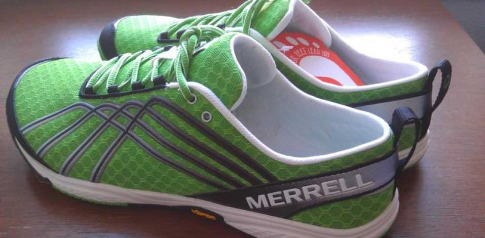 Merrell Barefoot Run Road Glove 2 - Medial Side