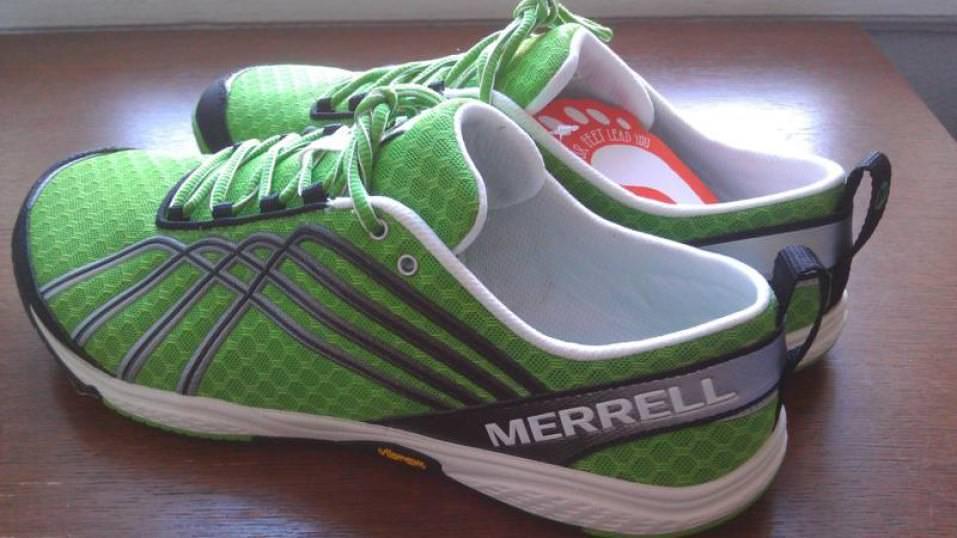 Merrell Barefoot Run Road Glove 2 - Medial Side