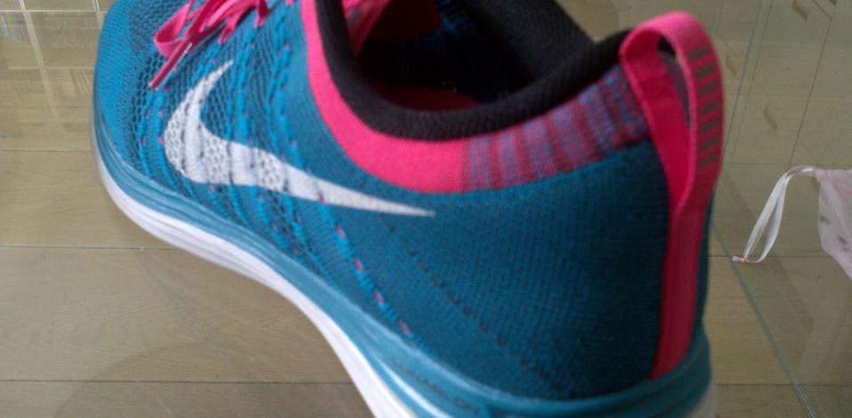 Nike Flyknit Lunar1+ - Heel
