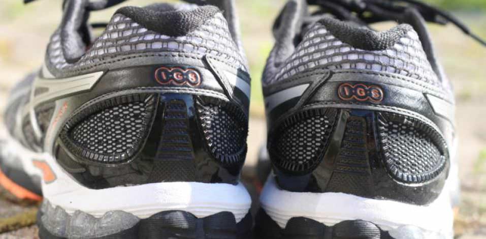 Asics Gel Nimbus 15 - Heel