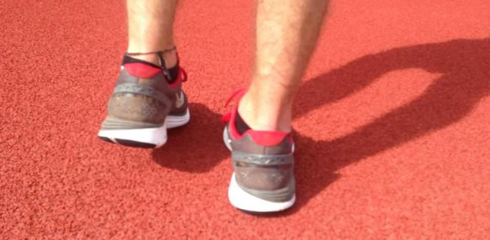 Nike LunarGlide5 - Heel