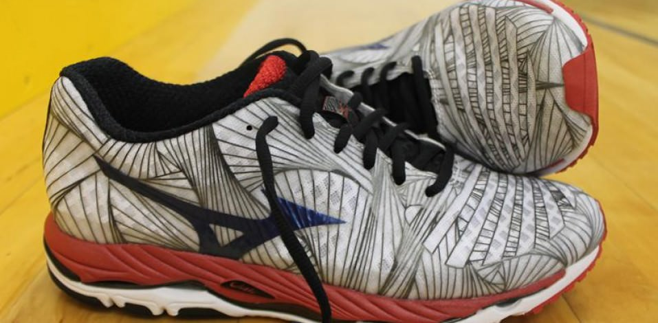 Mizuno Wave Paradox - Medial Side