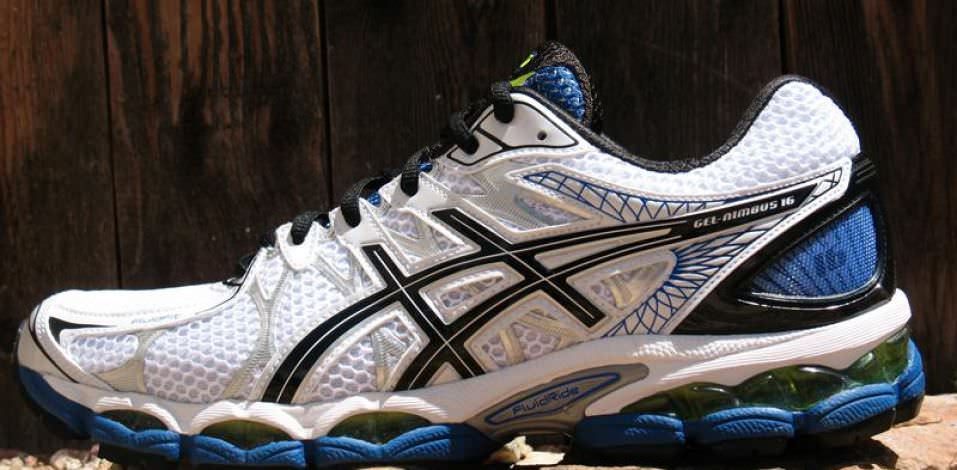 Asics Nimbus 16 - Medial Side