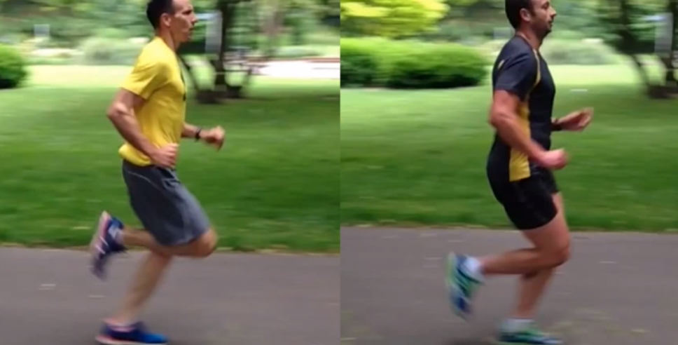 Running Technique Comparison: Which Are You More Like?