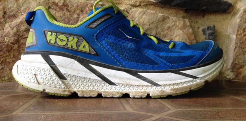 Hoka One One Clifton - Medial Side