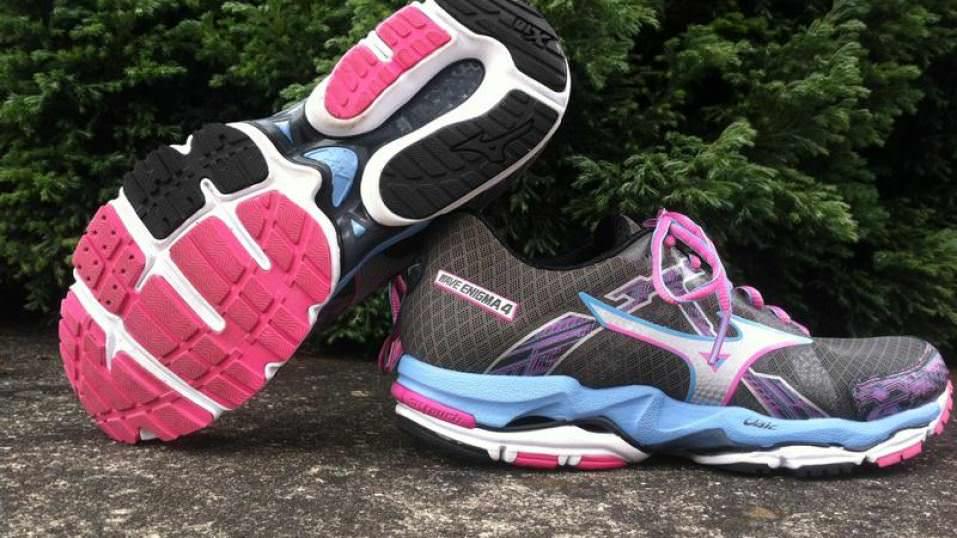 Mizuno Wave Enigma 4 Women's Running Shoes Womens Grey